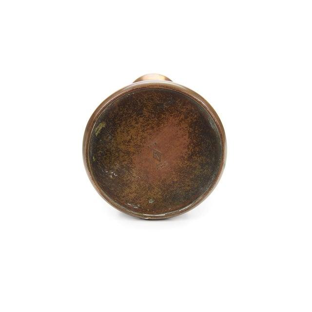 Image of Heintz C.1900s Sterling on Bronze Vase