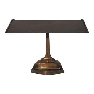 Mid-Century Brass Desk Lamp