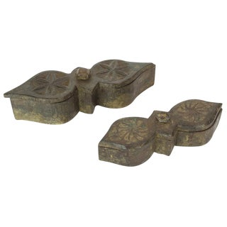 Vintage Tikka Boxes - Set of 2