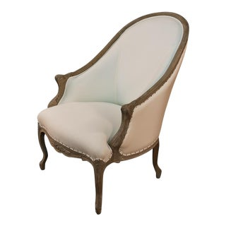 Sarried Ltd White Leslie Salon Chair