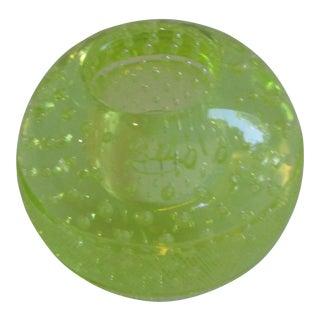 Antique Citron Bubble Match Striker