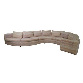 Milo Baughman Thayer Coggin Sectional Sofa