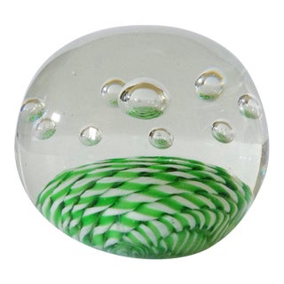 Green Fields Paper Weight
