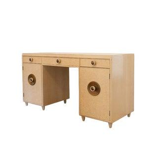 Paul Frankl Mid-Century Modern Pedestal Desk
