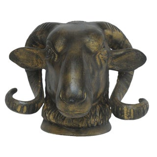 Sarreid Ltd Cast Iron Ram Head