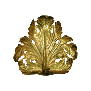 John Rosselli 20th C. Custom Brass Sconce