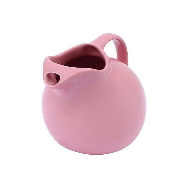 Pink Globe Beverage Pitcher - Image 3 of 6