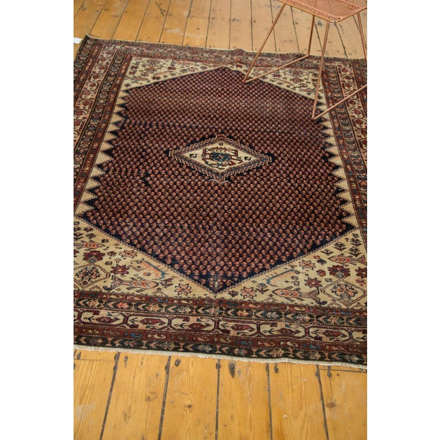 """Vintage Mission Malayer Square Rug - 5'5"""" x 6'7"""" - Image 10 of 10"""