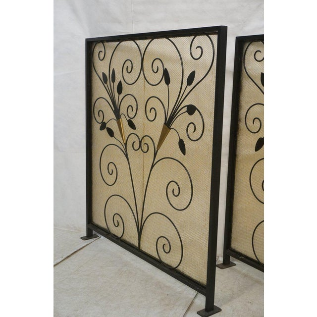 French Art Deco Room Dividers - A Pair - Image 4 of 6
