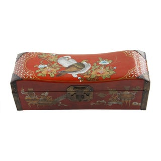 Antique 19th-Century Chinese Pillow Box