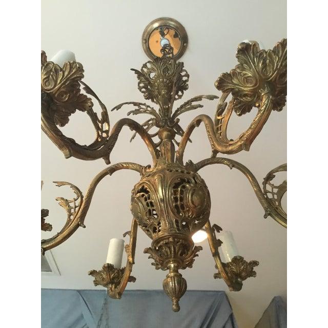 Rococo Revival Chandelier - Image 4 of 6