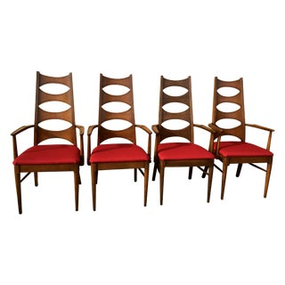 Mid-Century Kent Coffey Perspecta Chairs - S/4