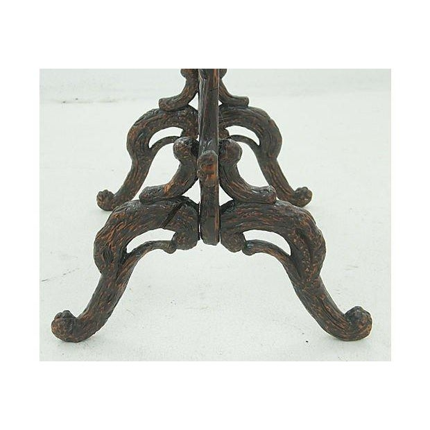 19th Century Black Forest Carved Fireplace Screen - Image 6 of 6