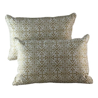 Quatrefoil Lumbar Pillows - A Pair