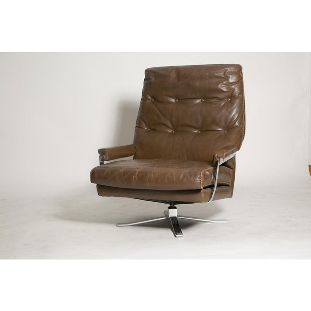 Arne Norell Leather Club Chairs - Set of 2 - Image 5 of 9