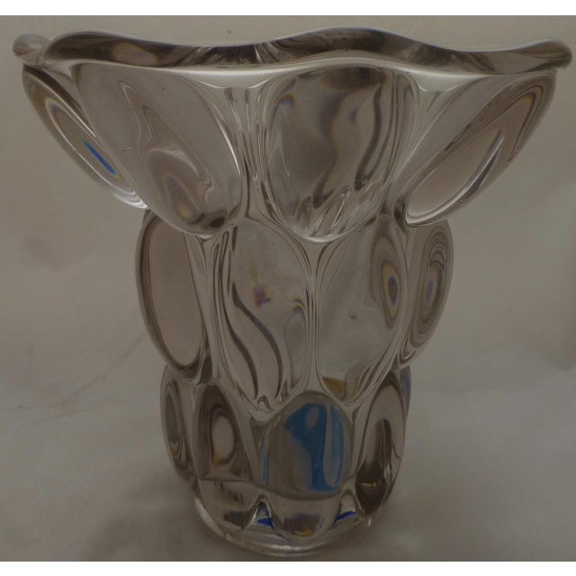 Mid-Century Modern Bubble Glass Vase - Image 6 of 11