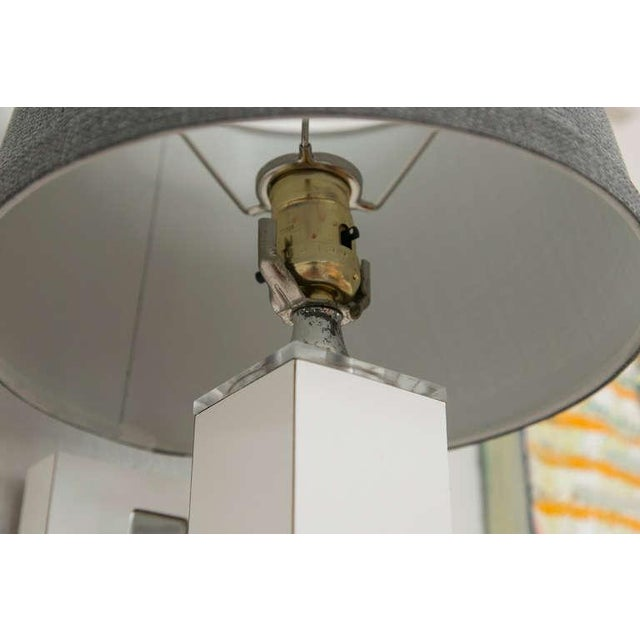 Pair of Midcentury Wall Sconce with Lucite Accents - Image 6 of 9