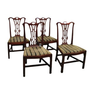 18th-C. George III Dining Chairs - Set of 4