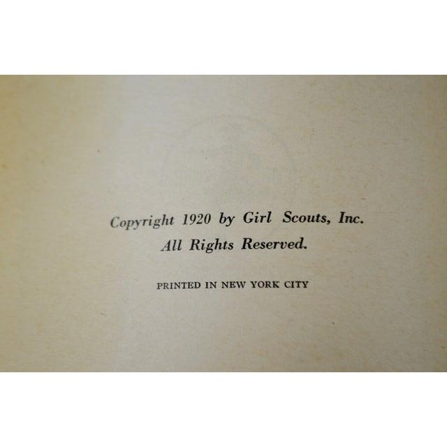 1920 Scouting for Girls Handbook - Image 8 of 11