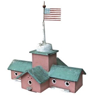 Folk Art Birdhouse