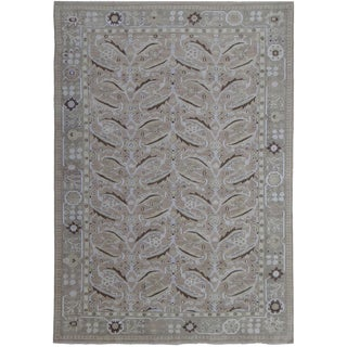 "Hand Knotted Fine Oushak Rug by Aara Rugs Inc. - 11'3"" X 9'5"""