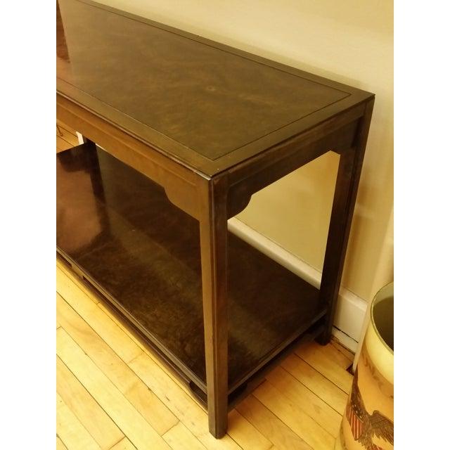 Thomasville Burlwood Sofa Table - Image 3 of 6