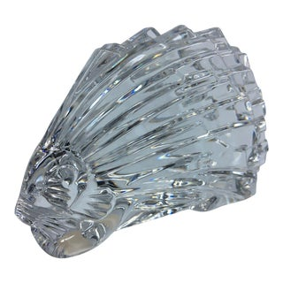 Baccarat Crystal Porcupine Figure