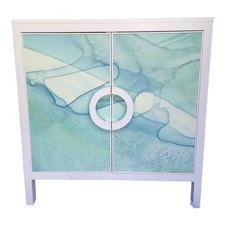 John Strauss Watercolor Mabel Cabinet
