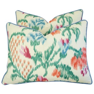 Custom Brunschwig & Fils Marly Pillows - Pair