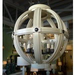 Image of Paul Marra Large Carved Sphere Chandelier