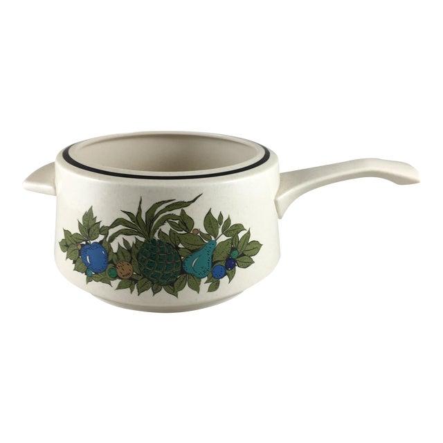 Fall Bounty Stoneware Open Fondue Pot - Image 1 of 10