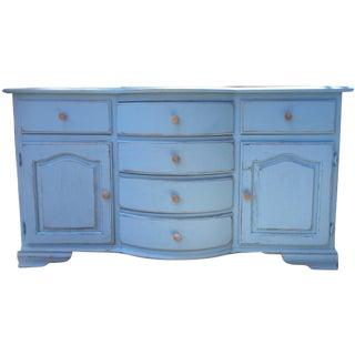 Shabby Chic Blue Dresser