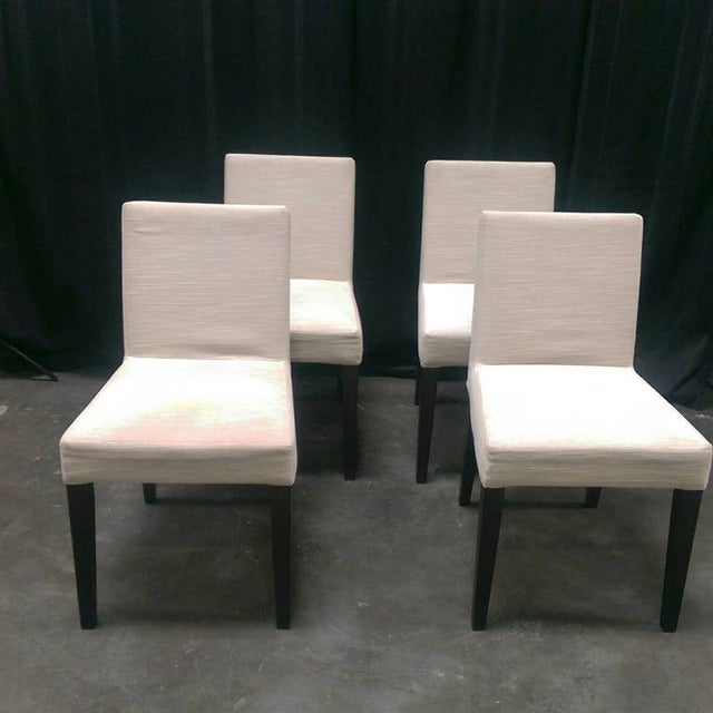Ligne Roset Upholstered Dining Chairs - Set of 4 - Image 2 of 7