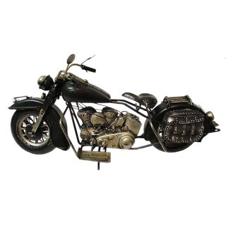 Motorcycle Replica With Moving Parts