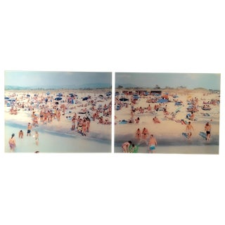 Massimo Vitali Diptych Limited Edition