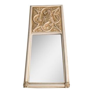 Vintage Lion Mirror