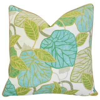 Designer Atrium Conservatory Foliage Feather/Down Pillow