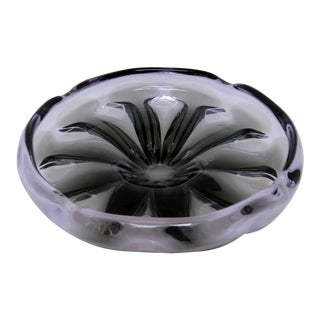 Vintage Tiffin Alexandrite Glass Bowl