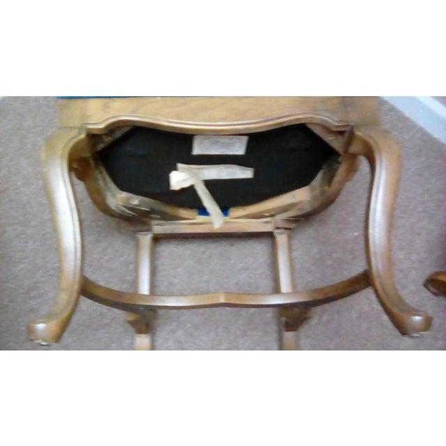 Jim Peed Esperanto Drexel Wingback Chair - Image 8 of 9
