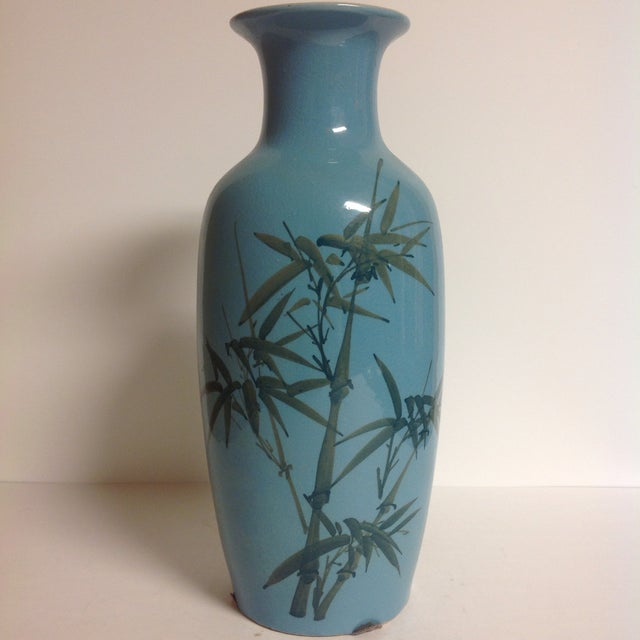 Vintage Japanese Turquoise Vases - A Pair - Image 4 of 5