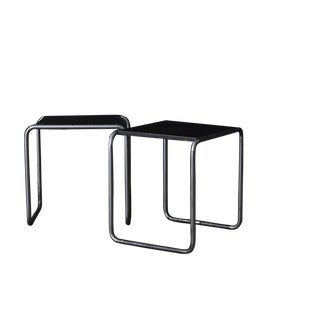 Marcel Breuer 1st edition B-25 stools/1927