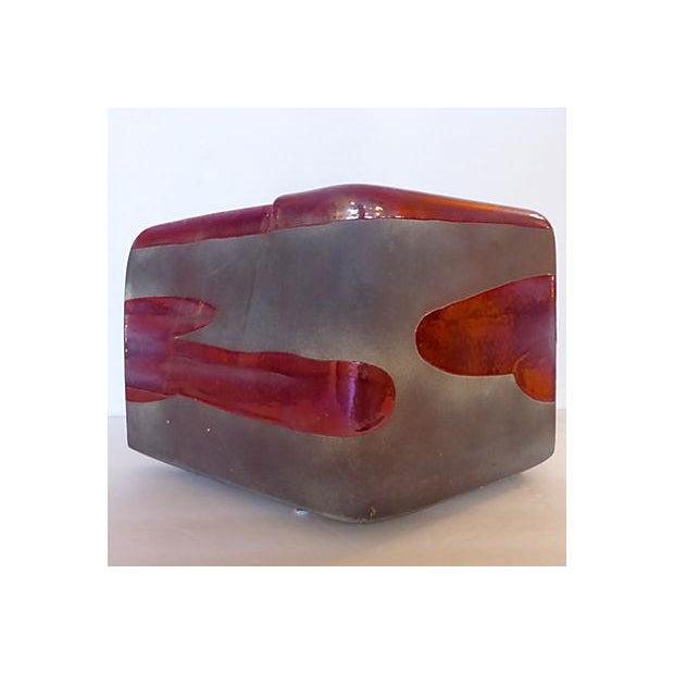 Sculptural Art Pottery Vase - Image 3 of 6