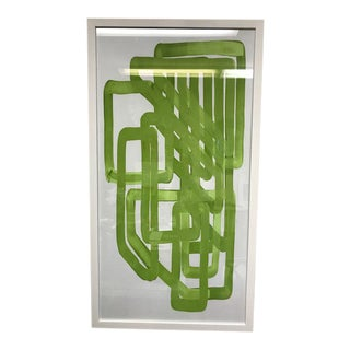 Lime Equation 1 Abstract Print