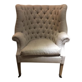 Restoration Hardware 19th Century Wing Chair