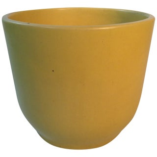 Pastel Yellow Gainey Ceramics Planter