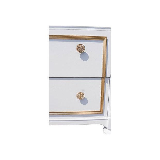 Image of Antique French Style Painted White Dresser