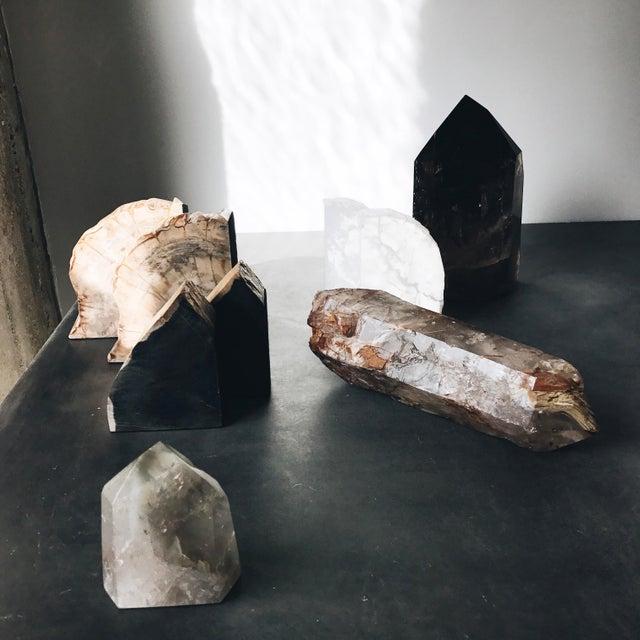 Hematite & Iron Marbling Quartz Crystal - Image 4 of 5