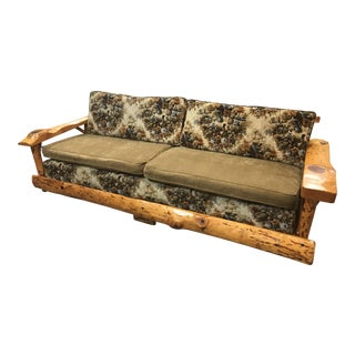 C. Selden Belden Pinecraft Furniture Lodge Style Sofa