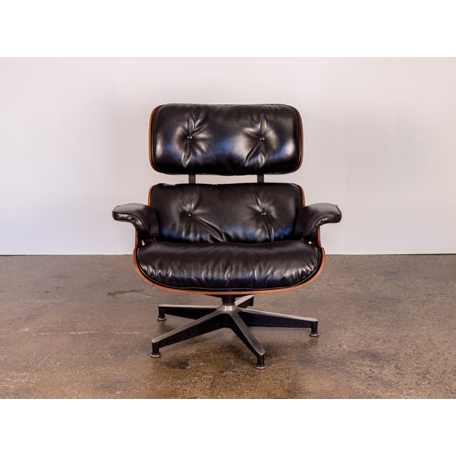 Image of 670 Eames Lounge Chair and 671 Ottoman