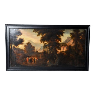 "Painting of ""Pastoral Scene"", Flemish"